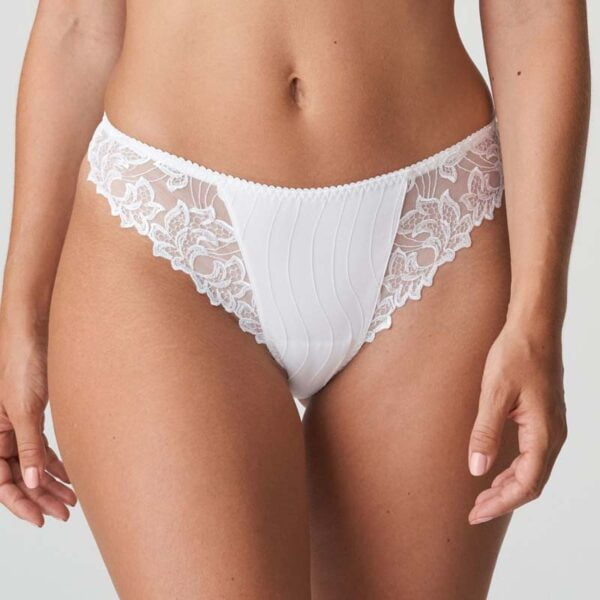 deauville white thong