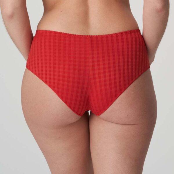 madison hotpant scarlet rear