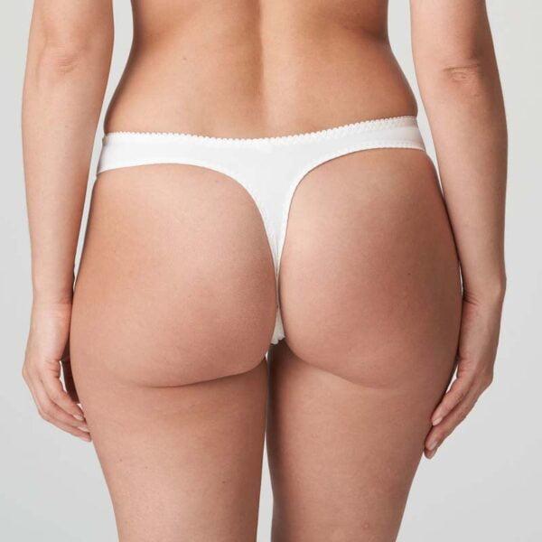 madison thong natural rear