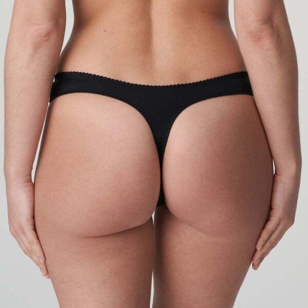 madison thong black rear
