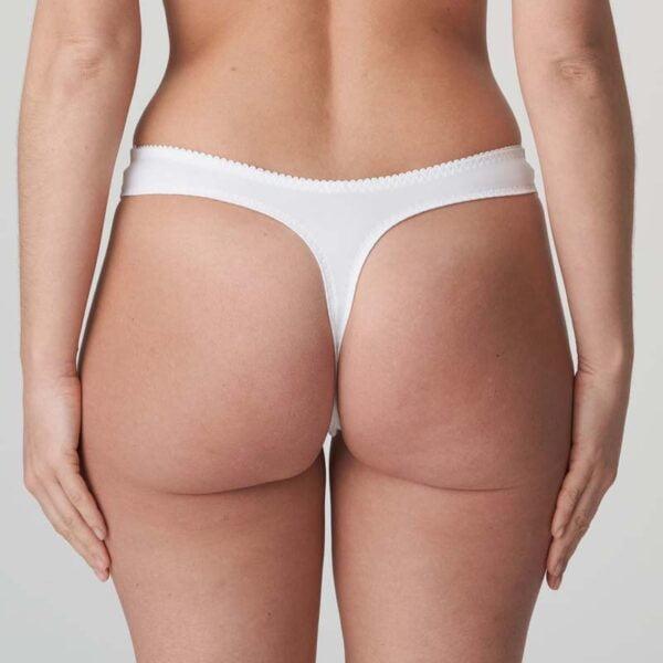madison thong white rear
