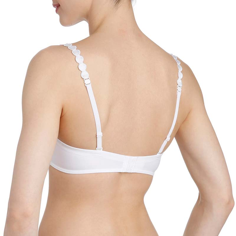 ae345ae1e0974 Tom Padded Bra Round Shape by Marie Jo L Aventure in White - Embrace
