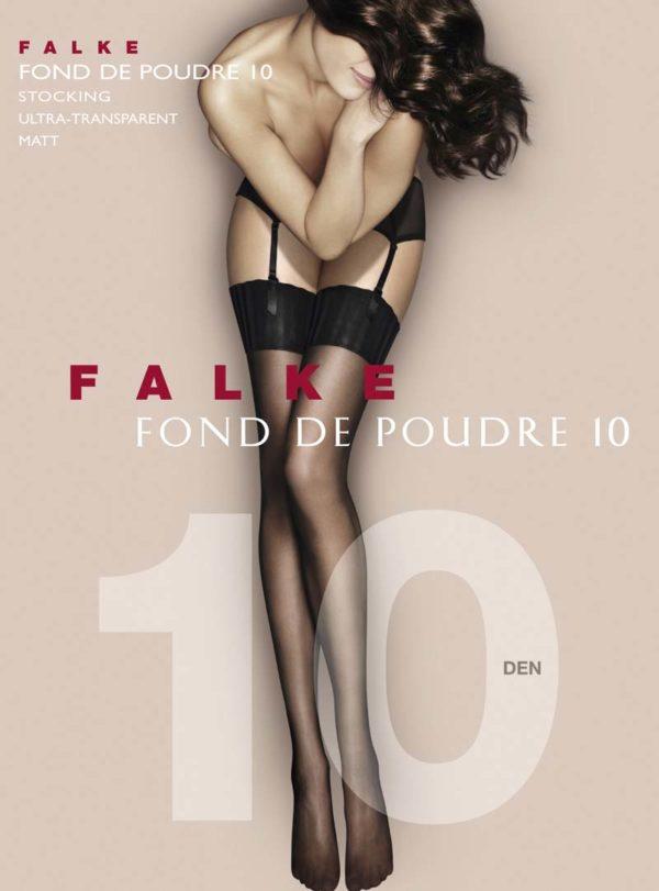 Fond de Poudre 10 Stocking by Falke