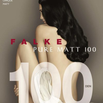 Pure Matt 100 Tights by Falke