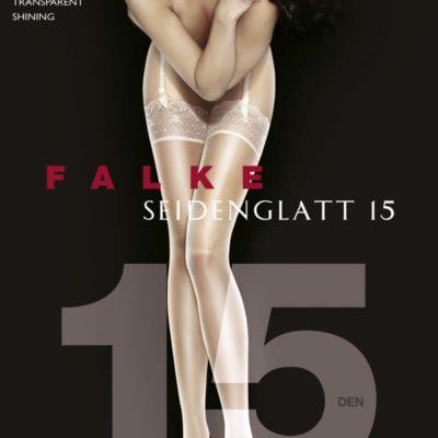 Seidenglatt 15 Shine Stocking by Falke