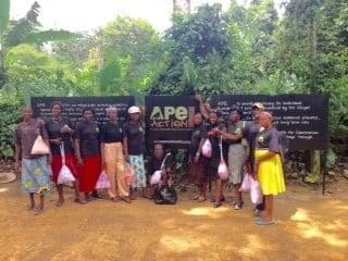 women in the surrounding villages of Mefou Primate Sanctuary