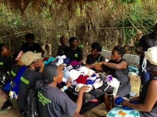 women in the surrounding villages of Mefou Primate Sanctuary 1
