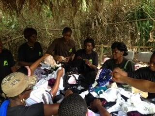 women in the surrounding villages of Mefou Primate Sanctuary 3
