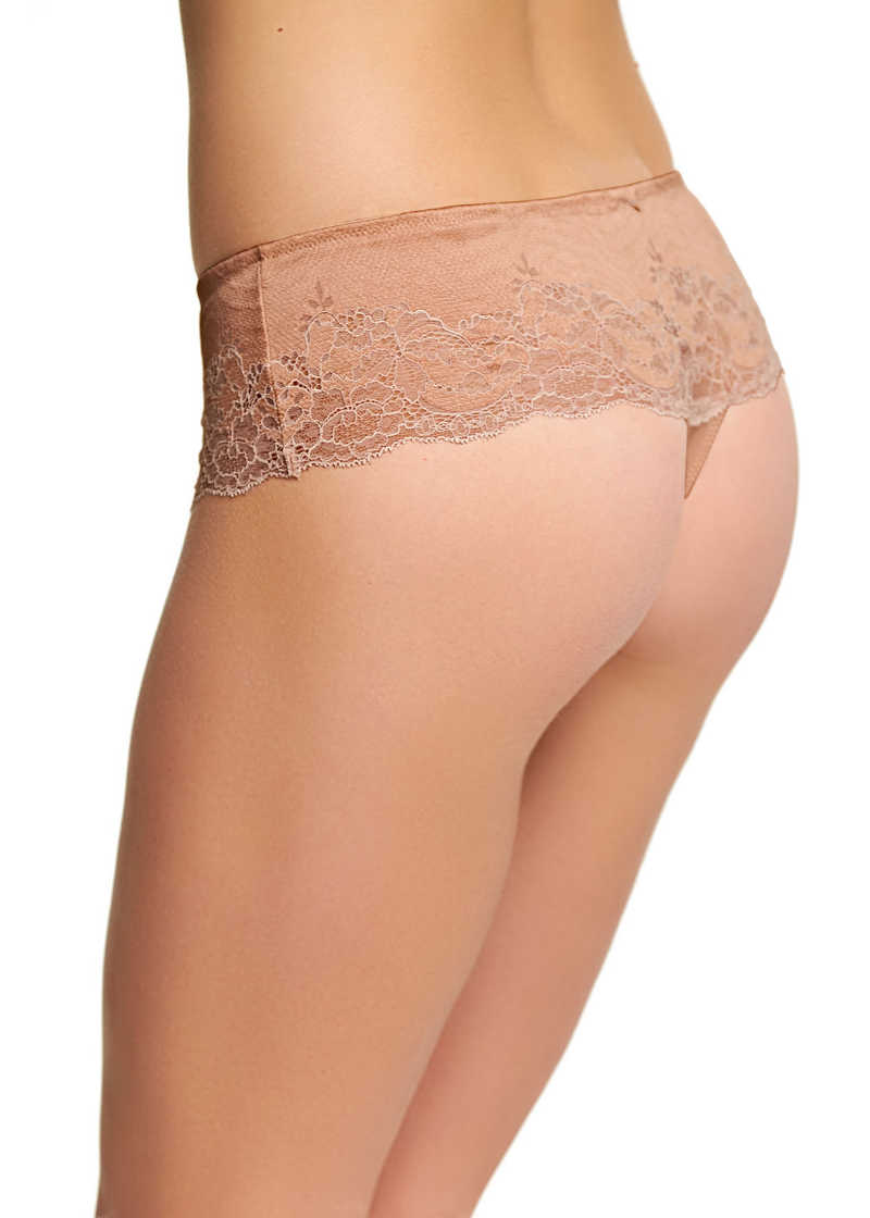 Lace Affair Tanga Limited Edition Rose Dust
