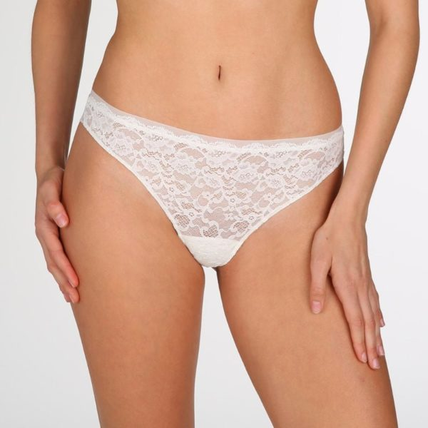 Color Studio Lace - Thong - Natural