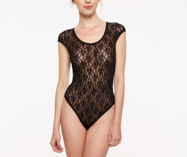 Crazy Lace Body - black