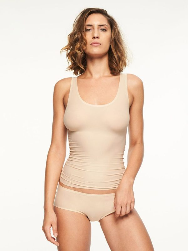 Soft Stretch - Nude - Vest