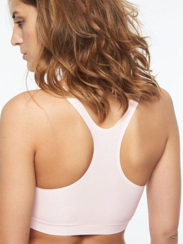 Soft Stretch - Soft Pink - Crop Top