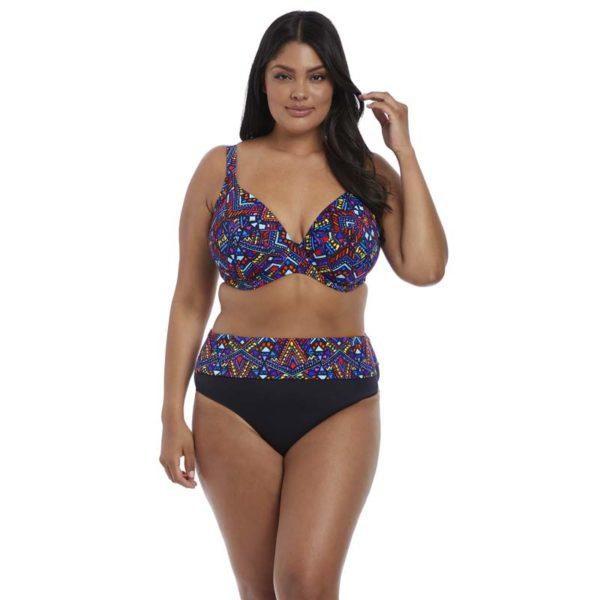 Elomi - Aztec - plunge bikini top