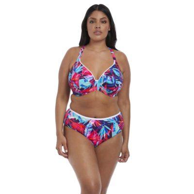 66790568f5 Paradise Palm Underwired Plunge Bikini Top by Elomi Swim