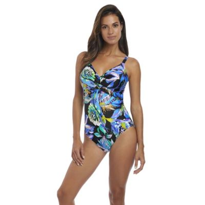 Paradise Bay Underwire Twist Front Light Control Swimsuit by Fantasie Swim