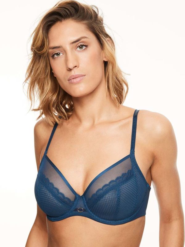 Parisan Allure - blue - 4 part bra
