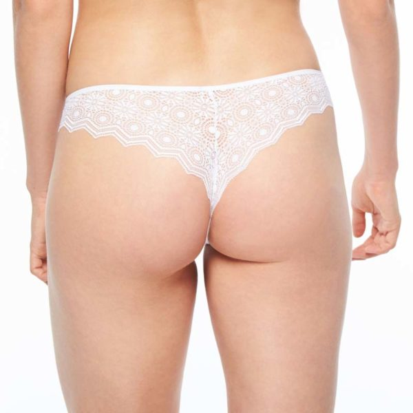 Georgia - White - Tanga rear