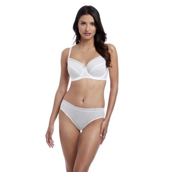 Aphrodite - white - fuller figure bra