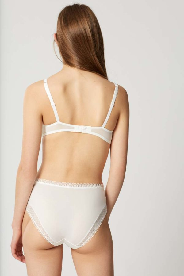 Dot Flowers - Lily - Full brief - rear