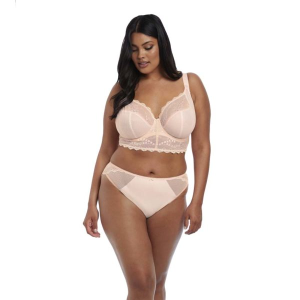 Elomi - Charley - ballet pink - bralette and brazilian - front
