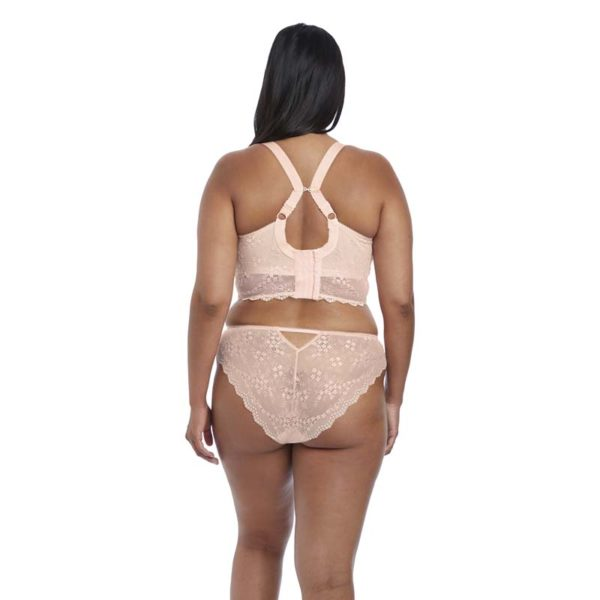Elomi - Charley - ballet pink - brazilian and bralette - rear