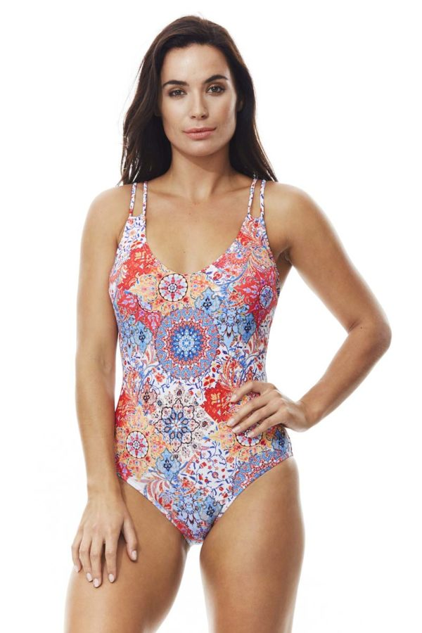 Murano Twin Straps Underwired Swimsuit by Moontide Swim
