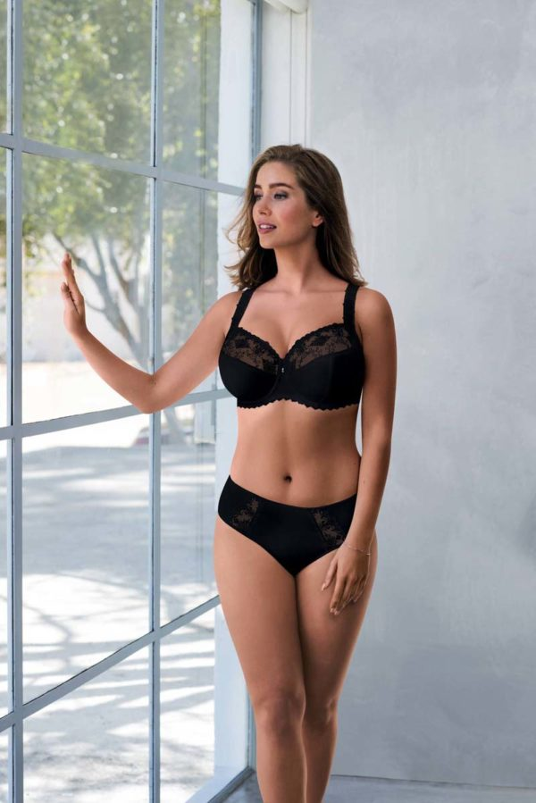 Grazia Firm support uw bra and HWB - black