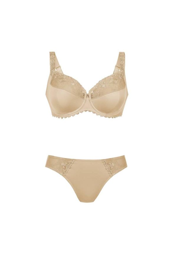 Grazia - firm support underwire and brief - skin