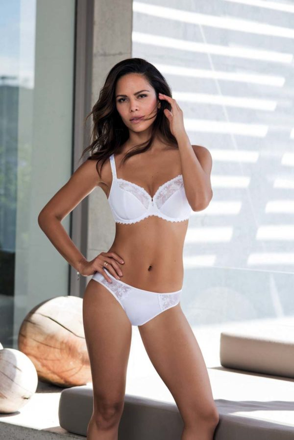 Grazia uw bra and brief - white