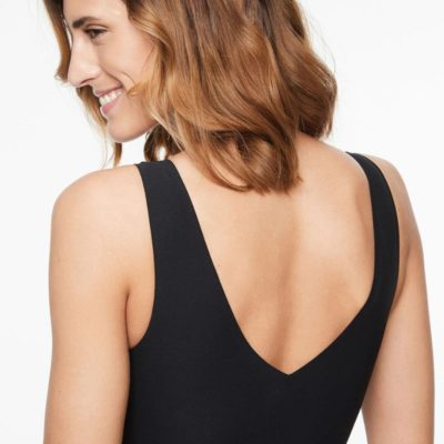 Soft Stretch 'Magic' V-neck Padded Top by Chantelle
