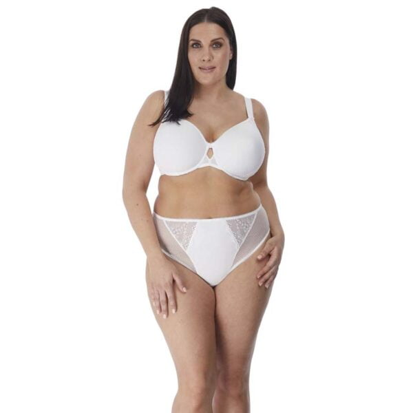 Charley White Bandless Spacer Moulded And High Leg Brief