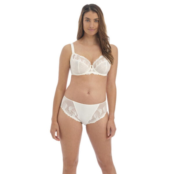anoushka ivory side support bra and brief front