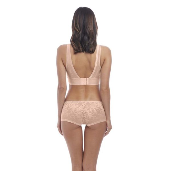 Net Effects - Rosedust - Bralette - rear