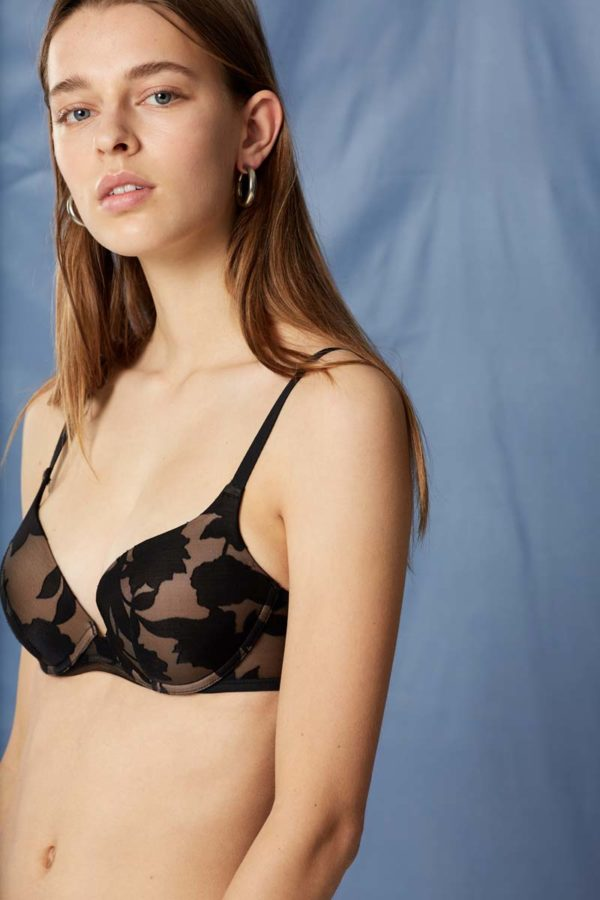 Venus - black - push up bra