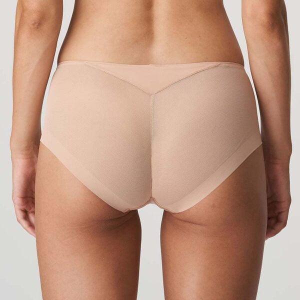 every woman hotpant light tan rear