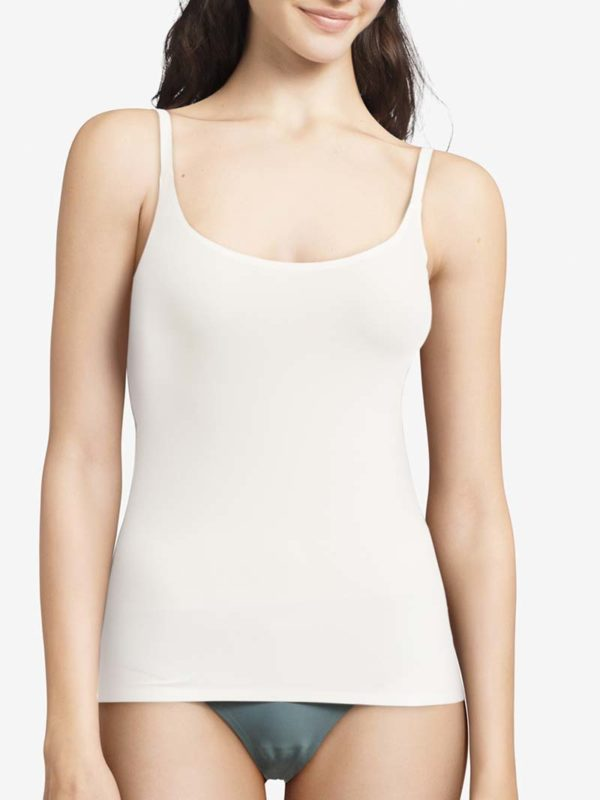 Soft Stretch Camisole Top Ivory