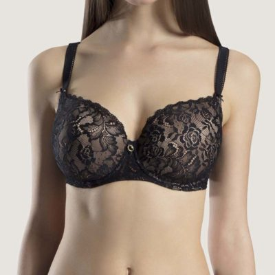 Rosessence Moulded Half Cup Bra by Aubade