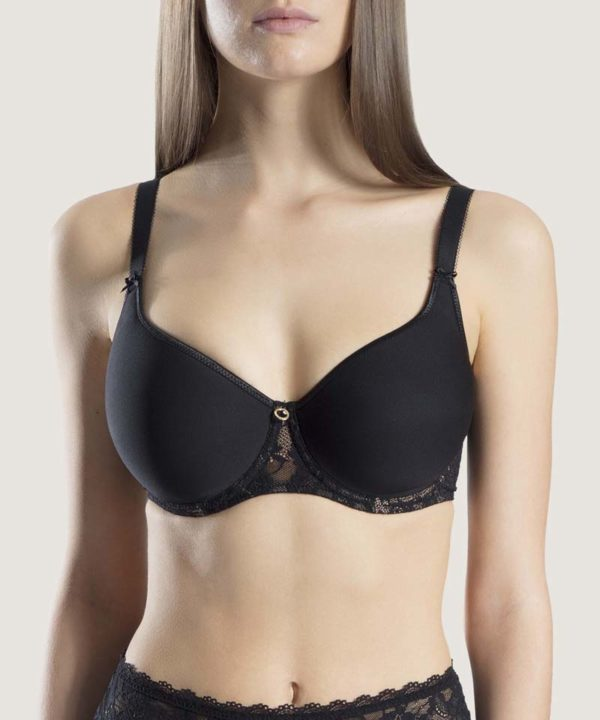 Rosessence Spacer T-shirt Bra Black