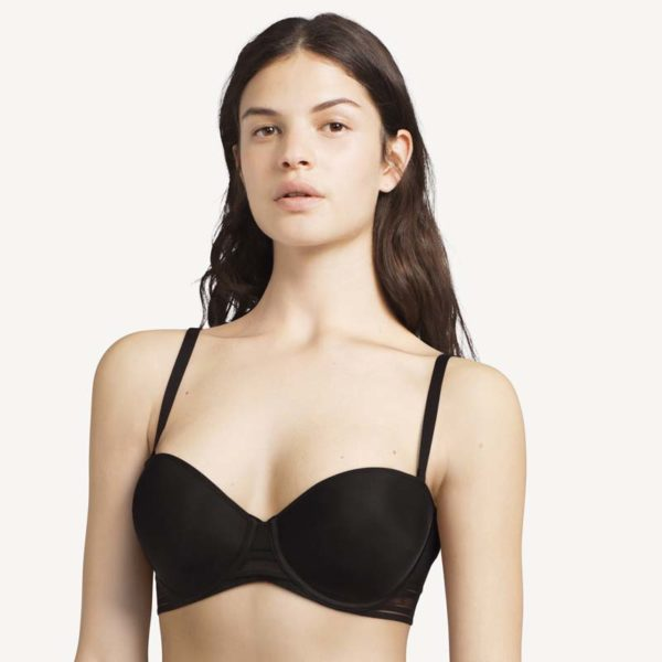 Rhythm Strapless Bra by Passionata Black