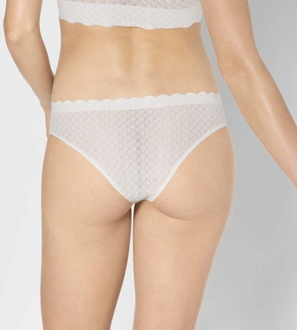 Angorra Zero Feel Lace Brazilian Panty by Sloggi