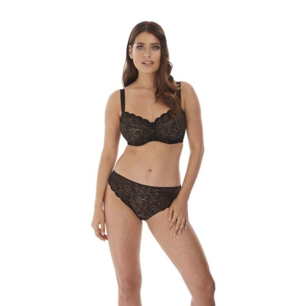 fantasie impression black average coverage bra