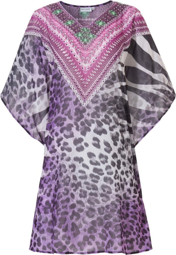 Purple Beach Dress by Pastunette