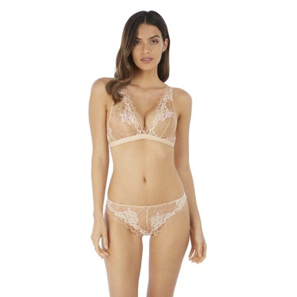 Lace Perfection Cafe Creme Bralette