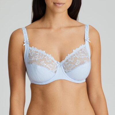 Deauville Full Cup Underwired Bra Heather Blue Limited Edition