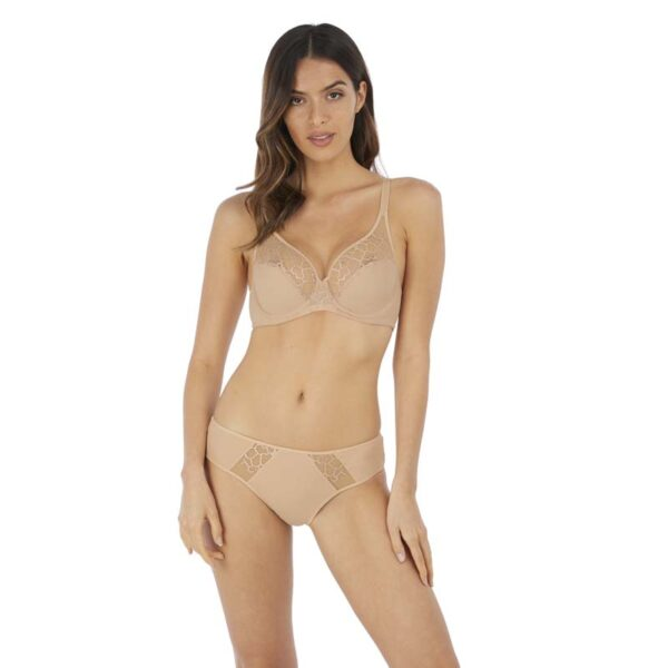 lisse frappe uw bra and brief