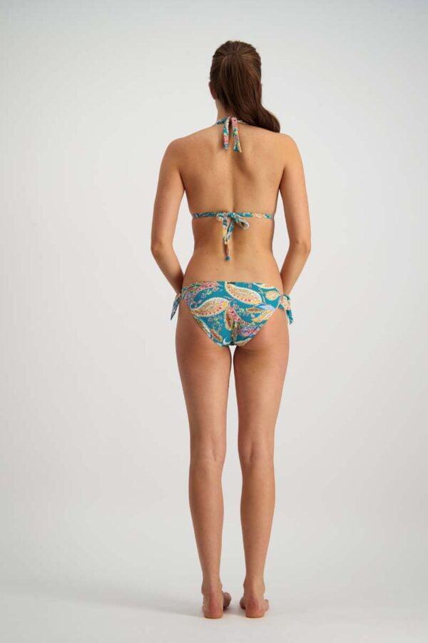 Hot Paisley Bikini By Moontide Swim Back