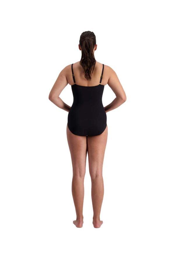 Polka Dot Twist Swimsuit By Quayside Swim Rear
