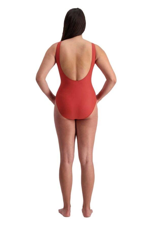 Vintage Bloom Swimsuit By Moontide Swim Rear