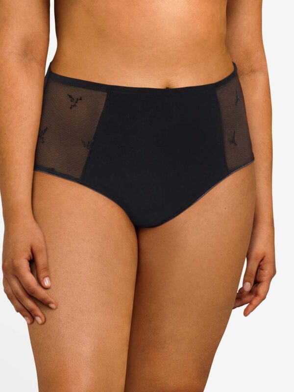 Chantelle Every Curve Black Full Brief